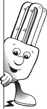 This little character was developed for the Redland Shire Council promoting energy saving